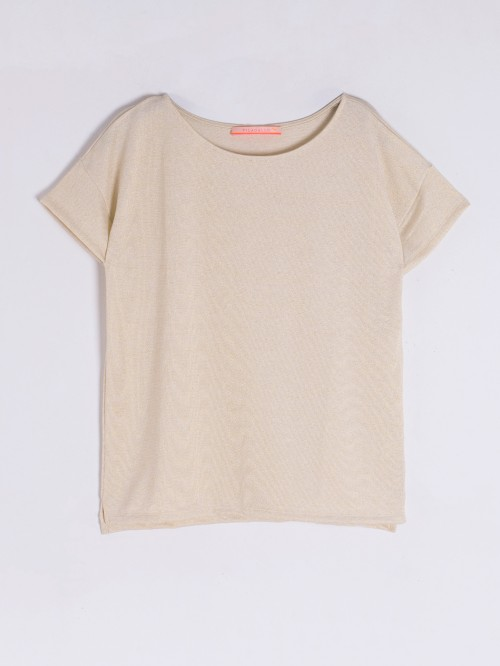 CAMISETA MARGOT GOLD KN K
