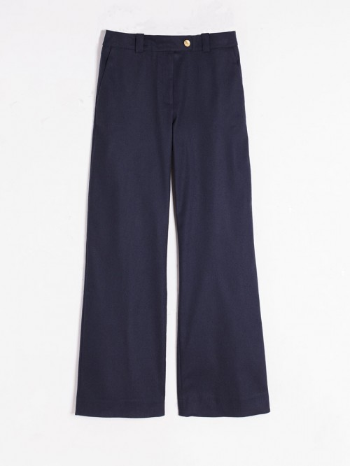 FEDORA L TROUSERS IN NAVY FRAN NAVY