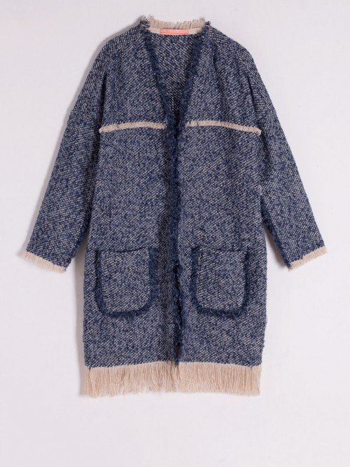 MARGOT COAT IN PAOLA BLU