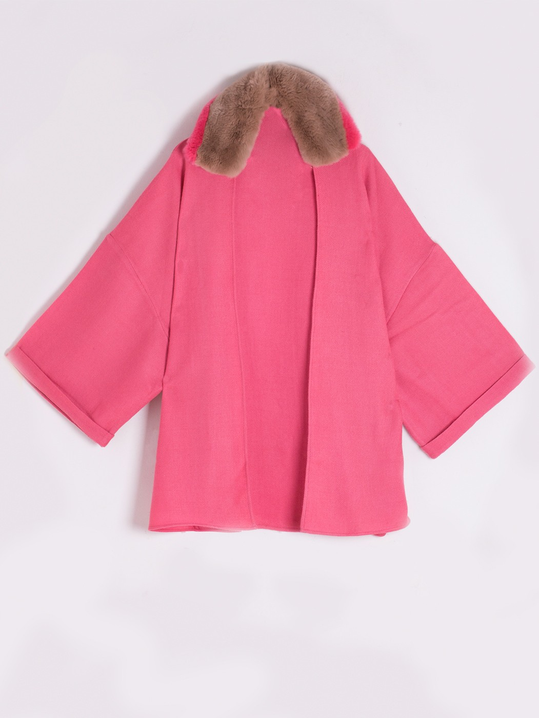 PONCHO MADISSION SUN KISSED CORAL