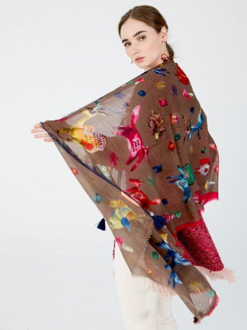 FOULARD RICHMOND SCARF