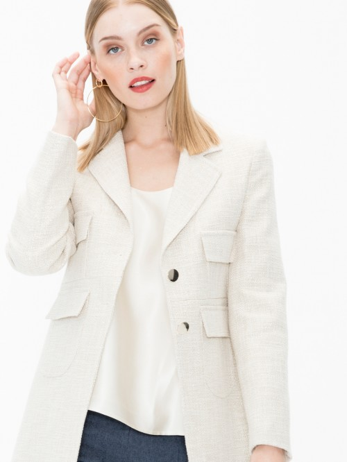 LUCIA COAT IN MADELAINE GOLD