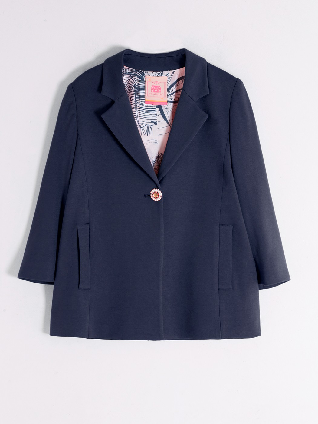 BELINA JACKET IN NAVY KN NAVY