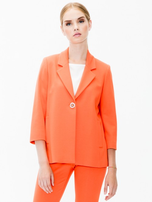 BELINA JACKET ORANGE KN