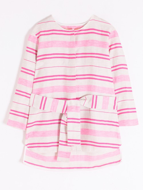 CAMISA BETTA PINK STRIPE