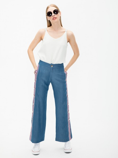 MARINA TROUSERS LIGHT DENIM