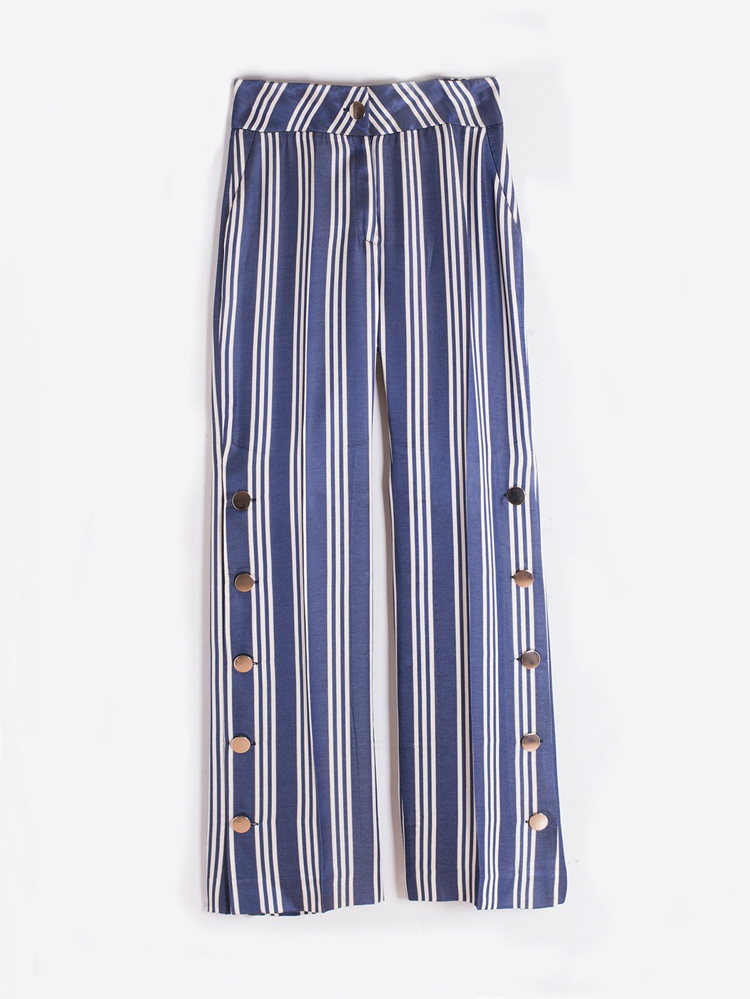 PANTALÓN NATALIA NAVY STRIPES HR