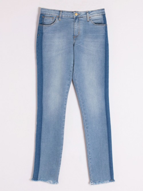 IRINA TROUSERS BLUE JEANS