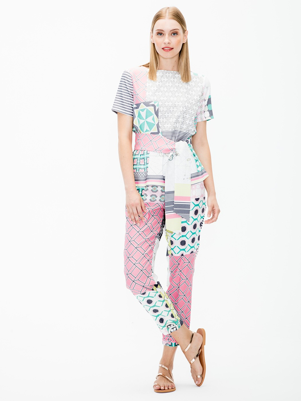 MILY TROUSERS MANABA PRINT