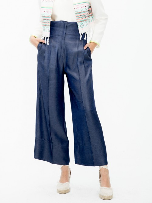 BRISA TROUSERS NAVY