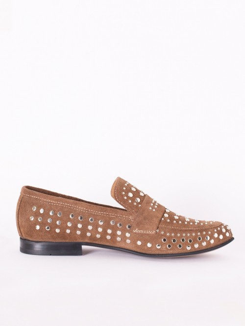 CAMEL STUDS LOAFER