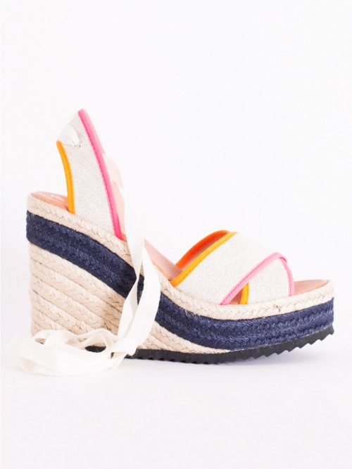 CHIARA SHOES IN FUCSIA ORANGE FLUOR