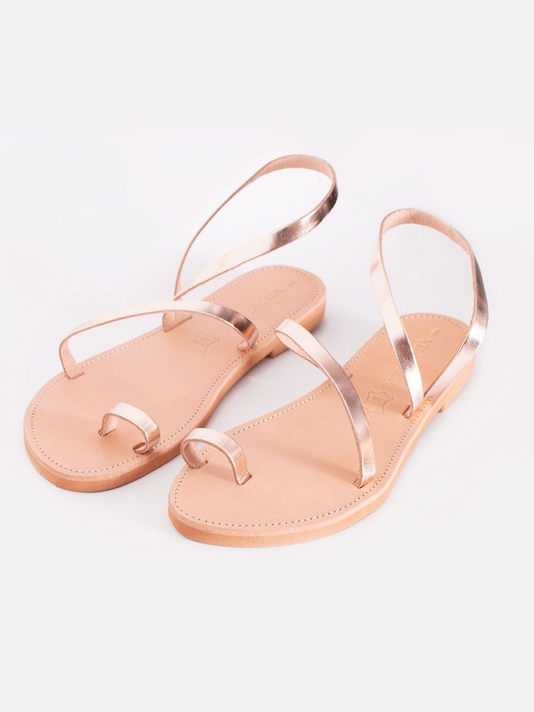 LIPSI SANDAL ROSE GOLD Z
