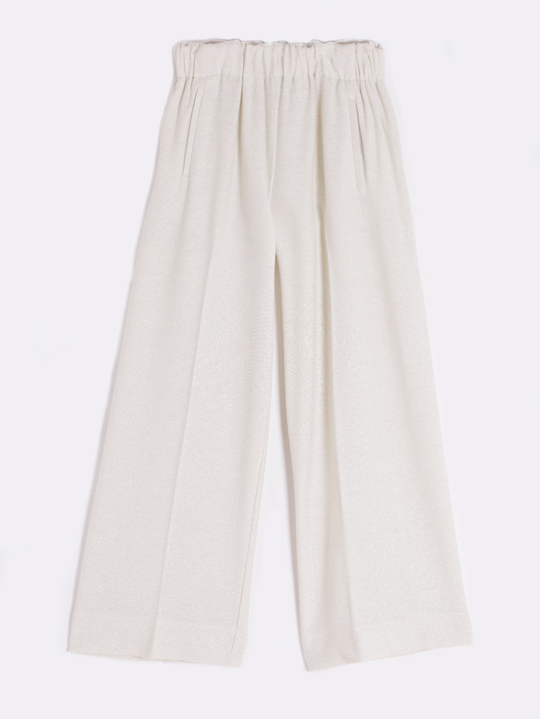 SYLVIE TROUSERS SILVER KN