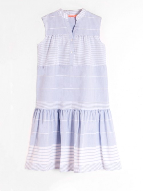 VERA DRESS MILAN STRIPE