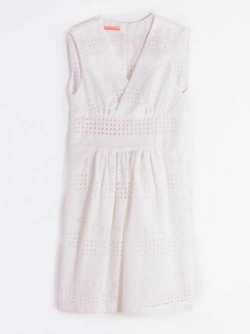 MANDIE DRESS WHITE EMBROIDERY