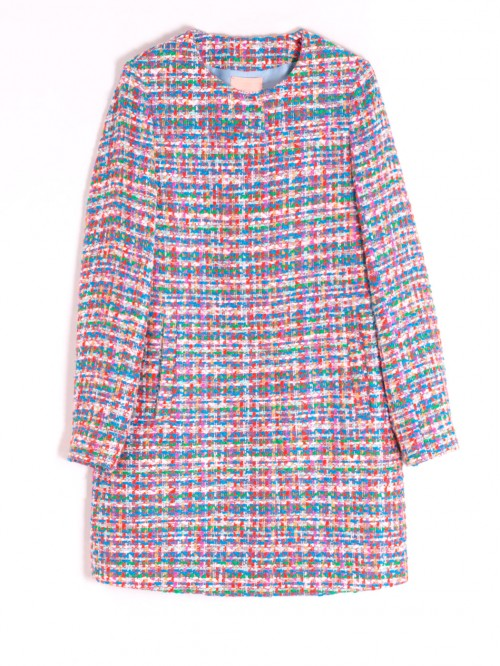 SOFIA COAT IN MULTI MADELAINE