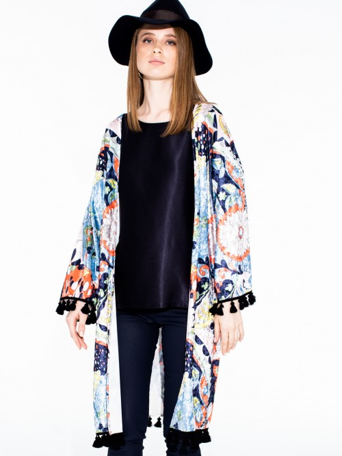 AVALON COAT MARTELLATO PRINT