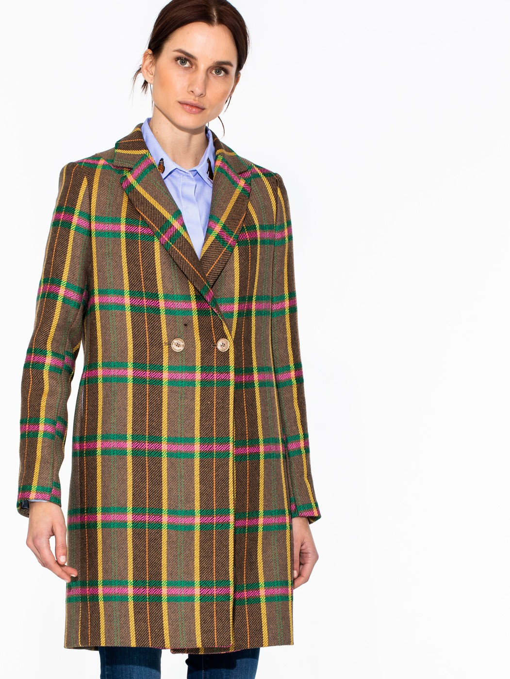 ABDEL COAT MADISON CHECK