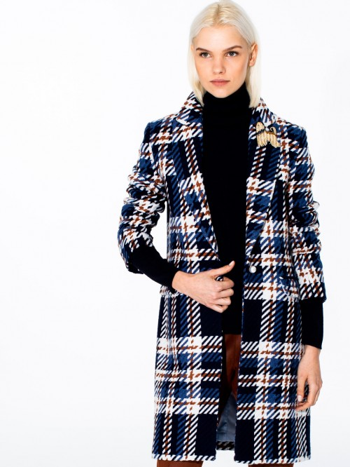 ARICIA COAT LOMBARDIA CHECK