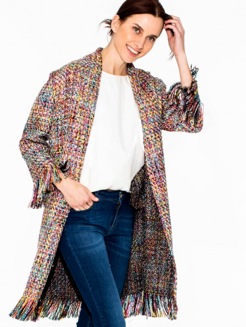 BROOKE COAT MADELAINE MULTI