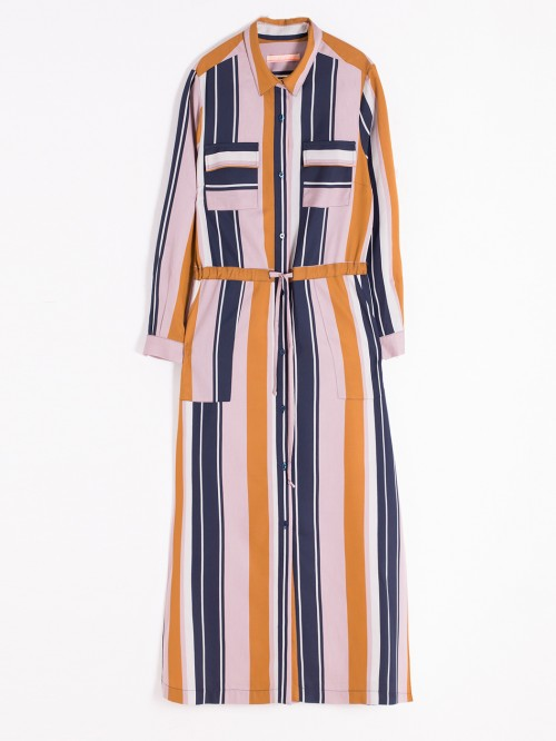 BRIGITTE DRESS TERANO STRIPES