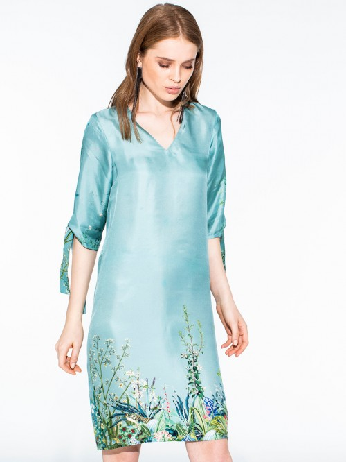 LOTTIE DRESS INARI TURQUOISE