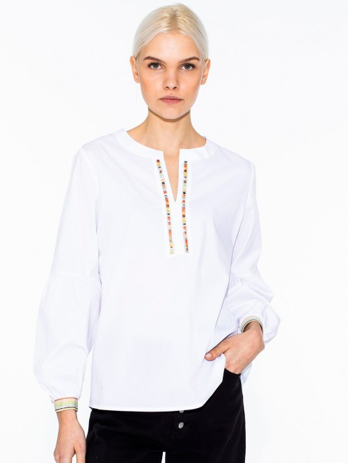 TILDA SHIRT WHITE CONFORT