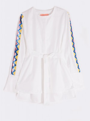 ERICA SHIRT WHITE HR W