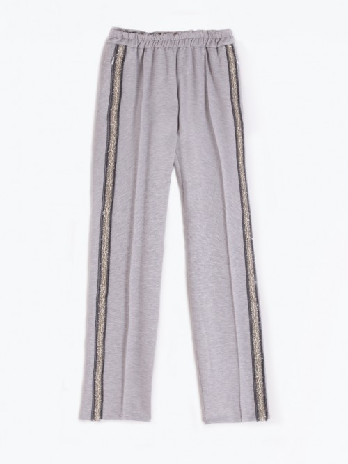 CLARISE GREY TROUSERS
