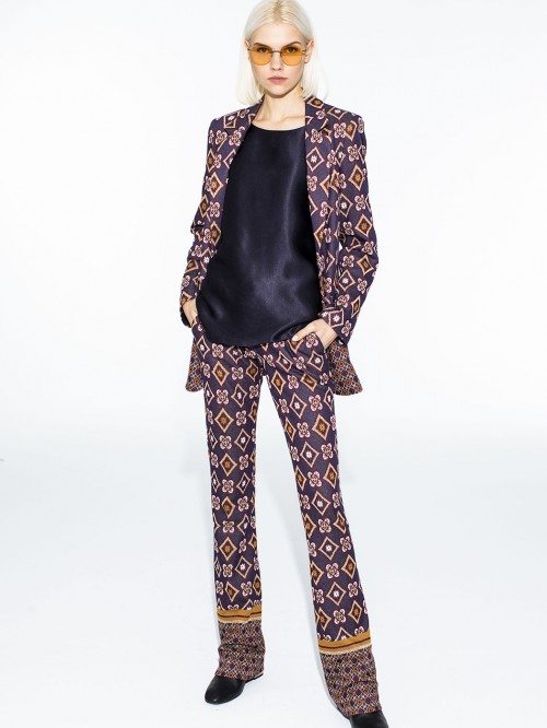 LONDON JACQUARD TROUSERS