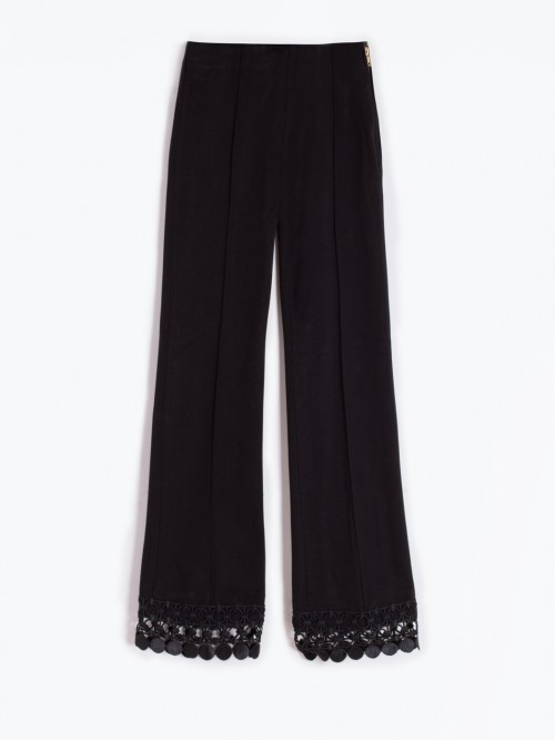 GIULLIA BLACK TROUSERS