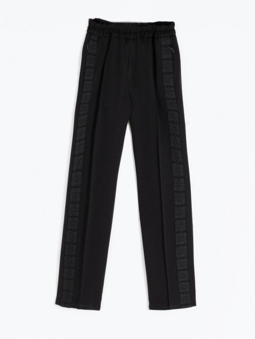 CLARISE BLACK TROUSERS