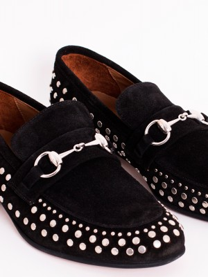 BLACK LOAFER STUDS