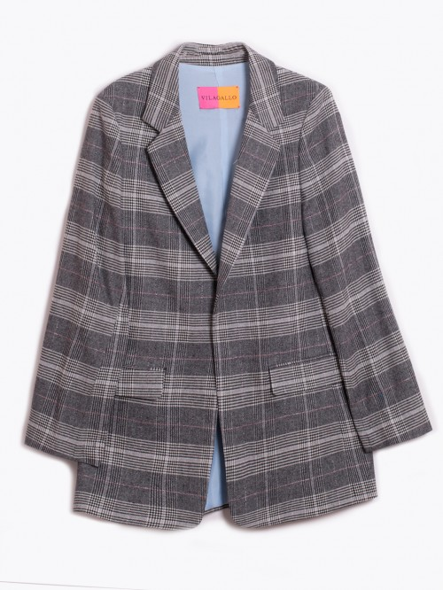 CLARA JACKET MAYFAIR CHECK