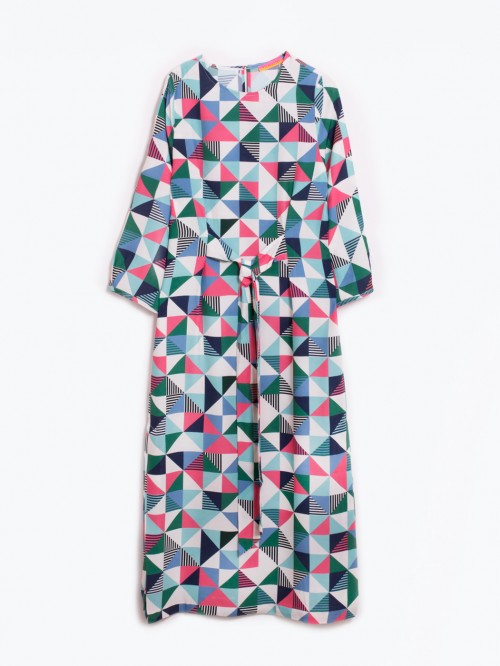 LINDSEY SOLDERMALM PRINT DRESS