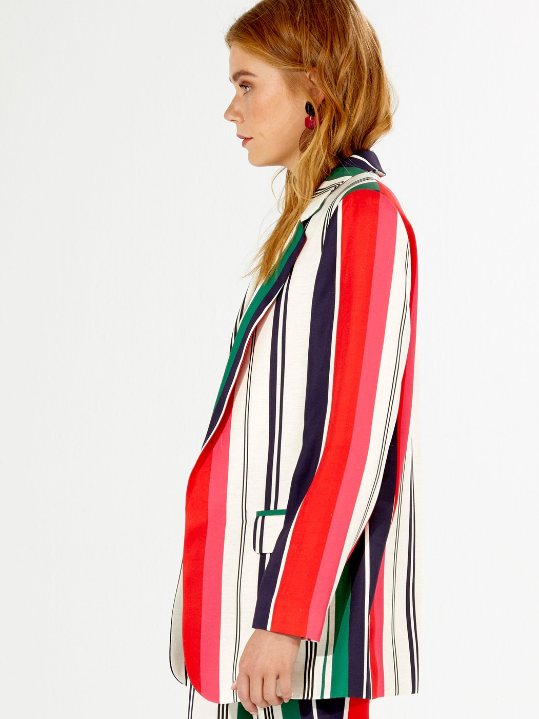 CLARA JACKET BERCELLI STRIPE PRIN