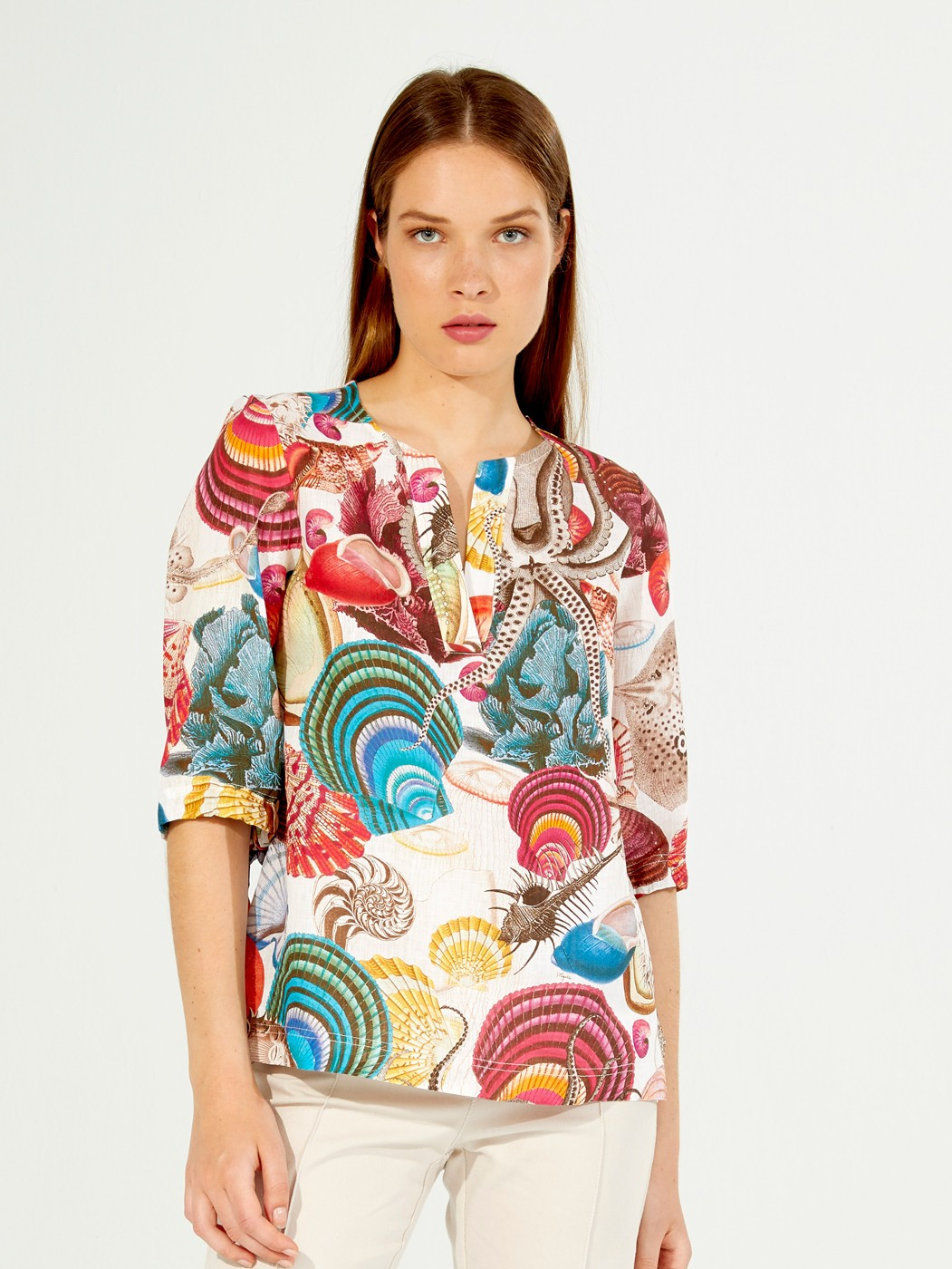 ANALISSA SHIRT BELIZE PRINT