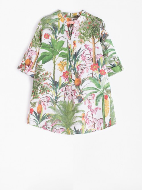 FILIPPA SHIRT ATTALEA WHITE PRINT