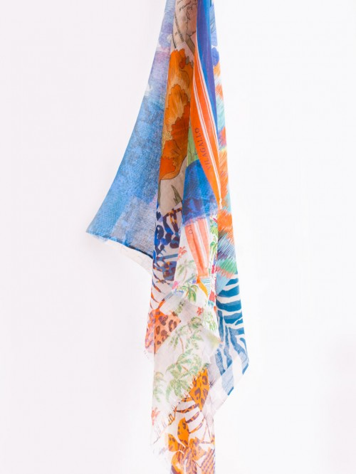 FOULARD SUMMER COLLAGE