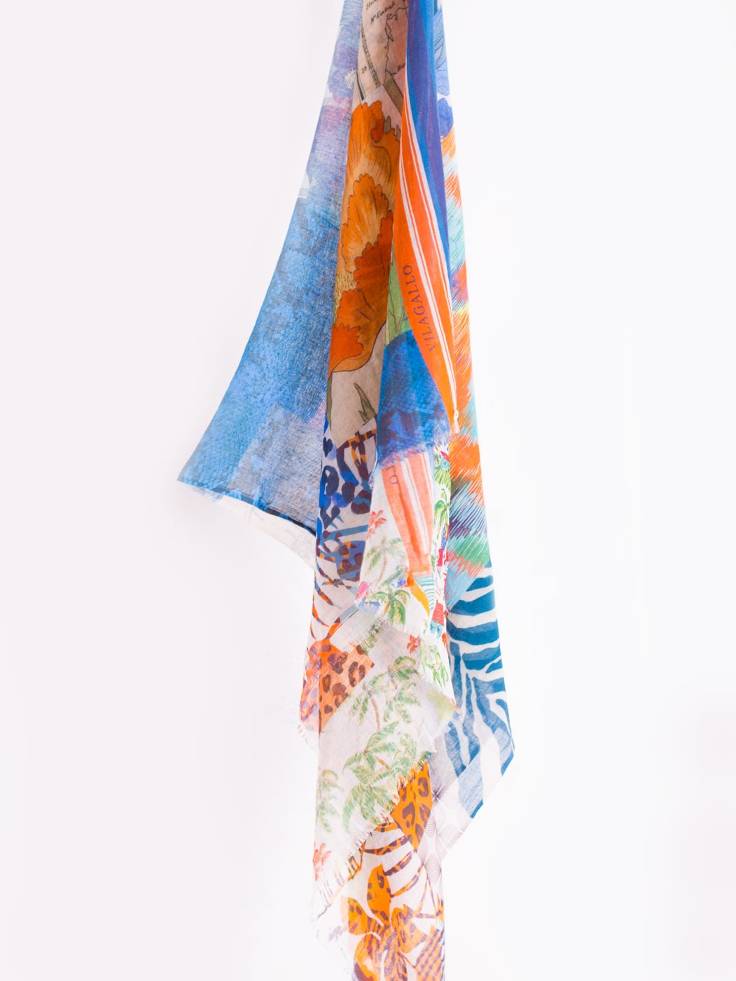 SUMMER COLLAGE SCARF