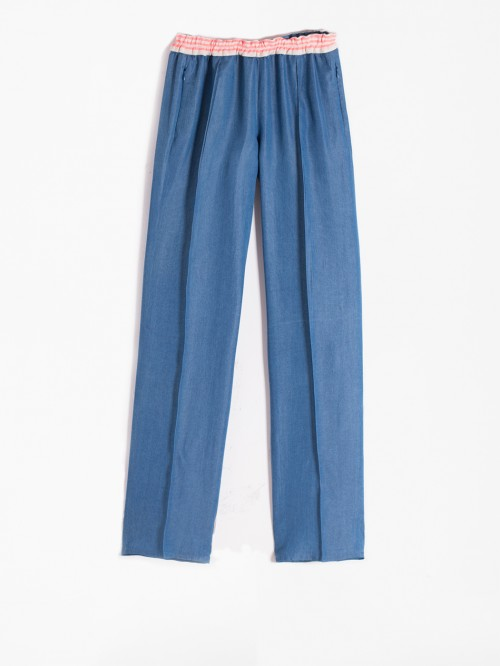 CLARISE TROUSERS LIGHT DENIM