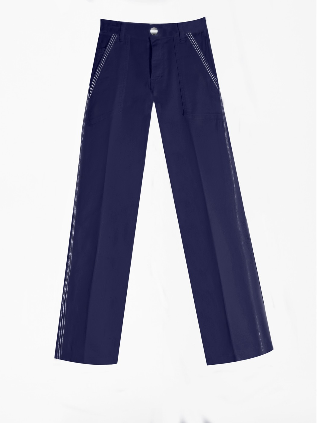 MANI NAVY TROUSERS