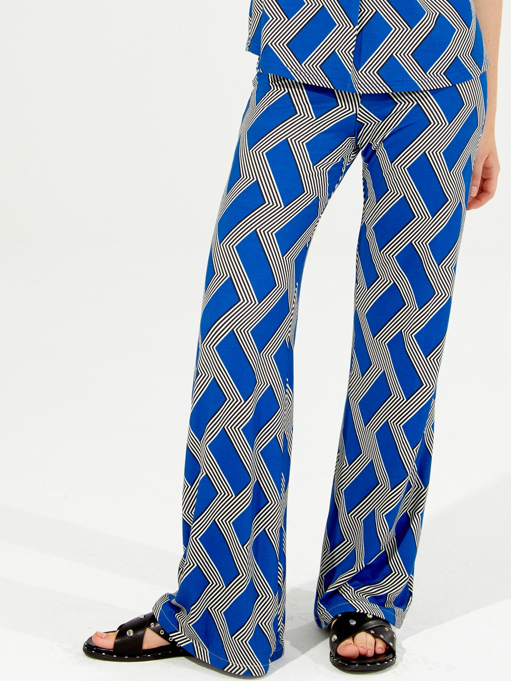 VENUS TROUSERS TRUE BLUE PRINT KN
