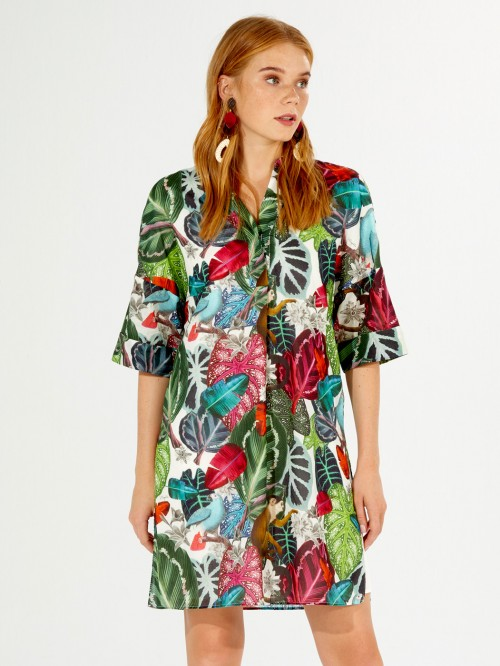 VESTIDO APRIL NILSSON PRINT