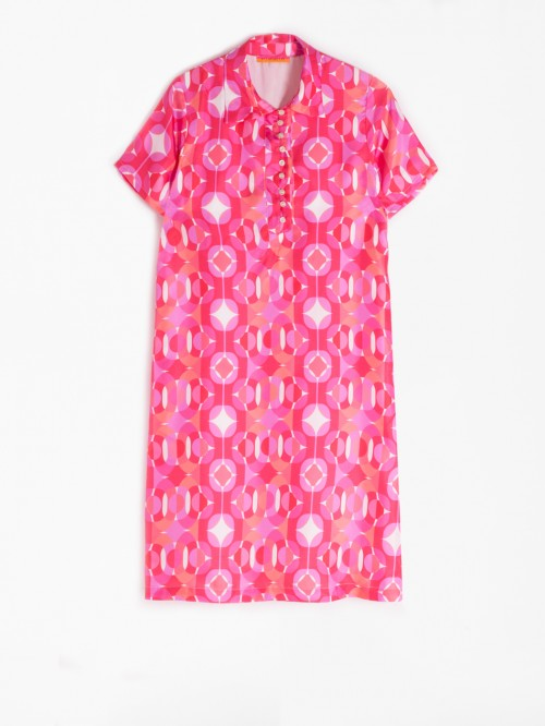 DALIA DRESS PINK CONDOTTI SILK