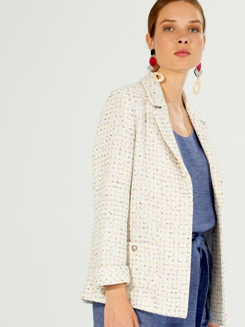 ALMA JACKET MADDIE WHITE MULTI