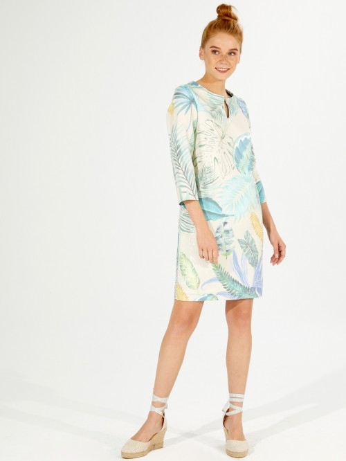 GRETA DRESS ROATAN PRINT