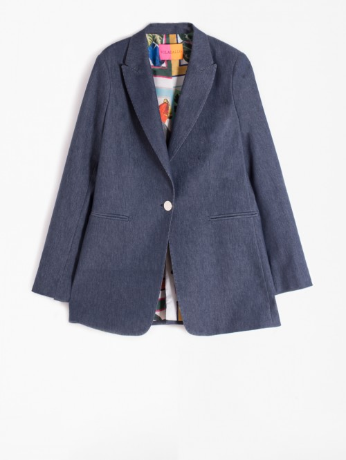 KATRINA JACKET DARK DENIM AMSTERDAM