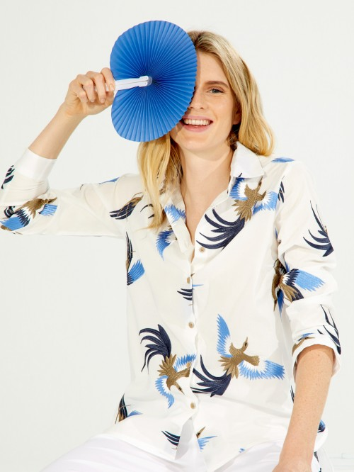 CAMISA DOVER BIRD EMBROIDERY